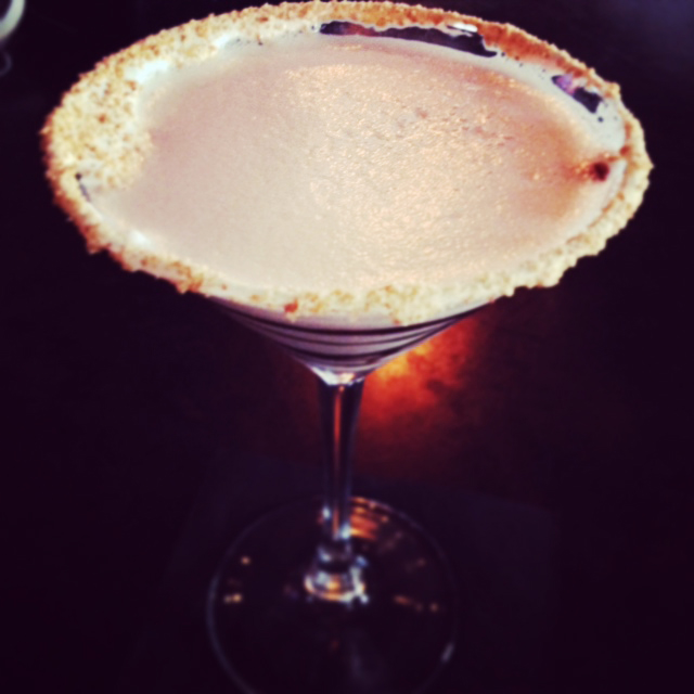S'mores dessert cocktail
