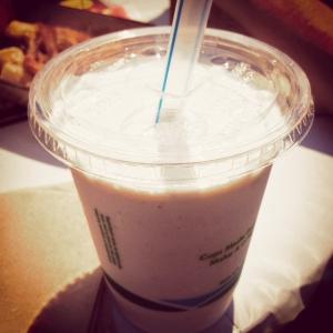 BRGR Peanut Butter Milkshake