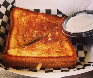 Oh My Grill! Number One Grilled Cheese Sandwich