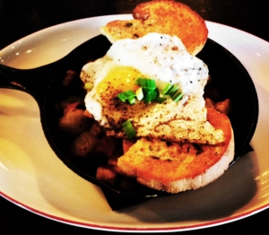 Pork Belly Hash from Ten Penny