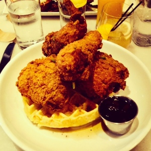Chicken & Waffles from Meat & Potatoes
