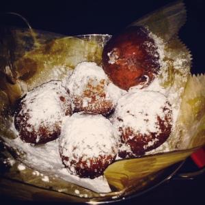 Warm Ricotta Donuts