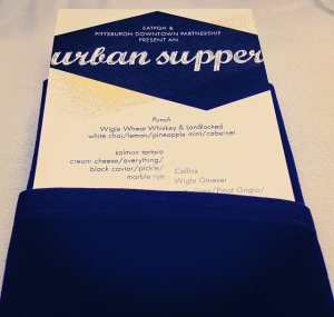 Urban Supper Menu Teaser