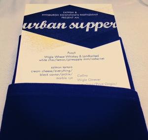 Urban Supper Menu Teaser