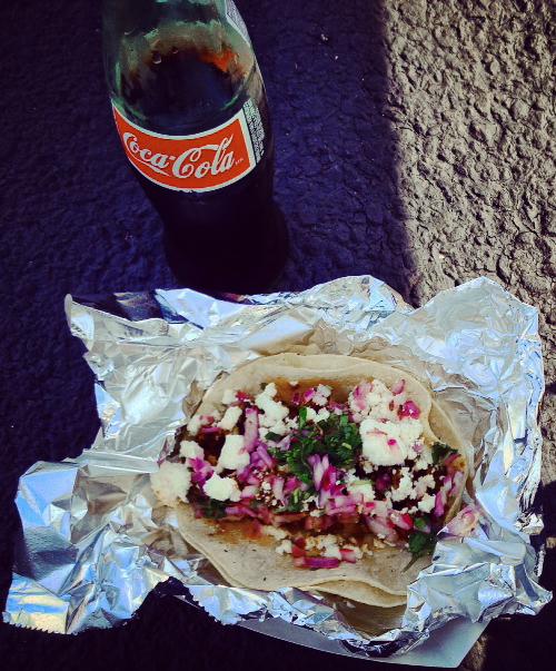 Chorizo Taco from PGH Taco Truck