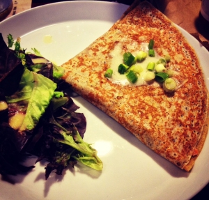 Alaskan Crepe from Cafe Moulin