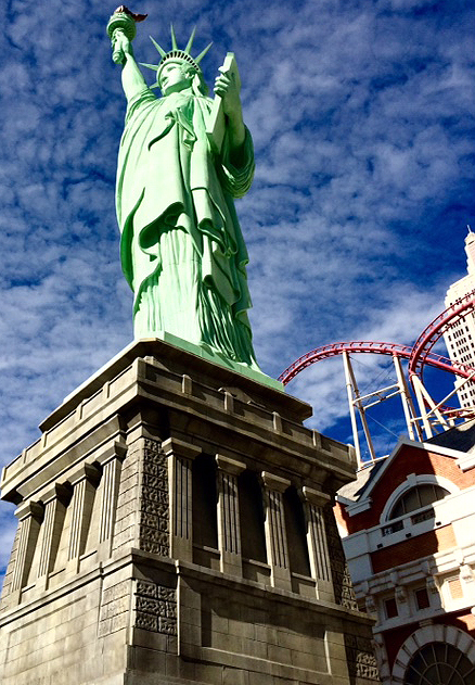New York, New York in Las Vegas