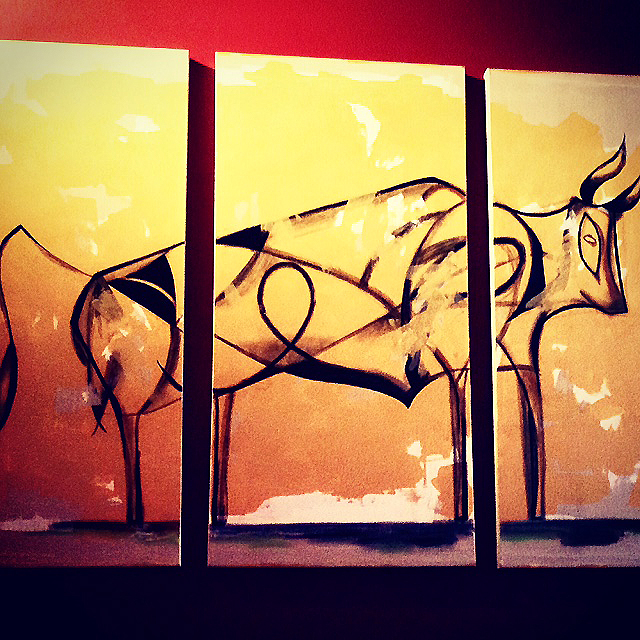 Bull Painting