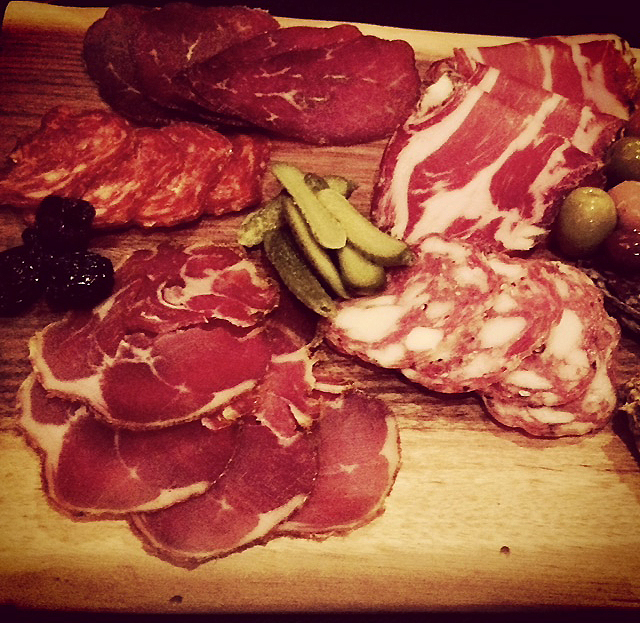 Charcuterie Plate Close-up