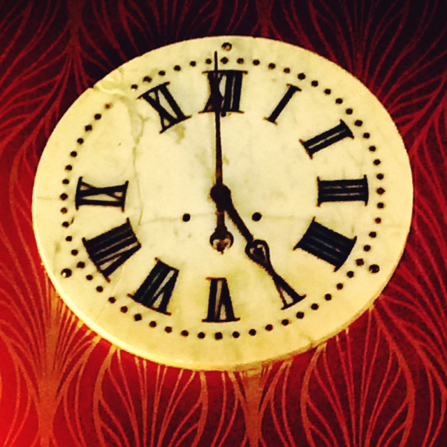 The clock in Tender (so cool!)