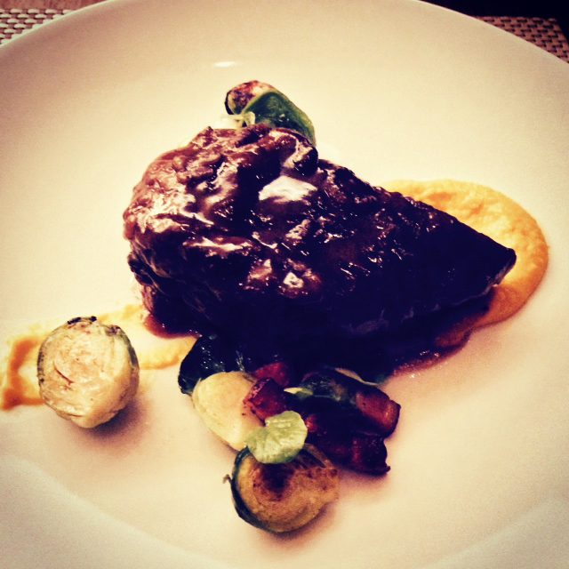 Beef Short Rib dish from Habitat