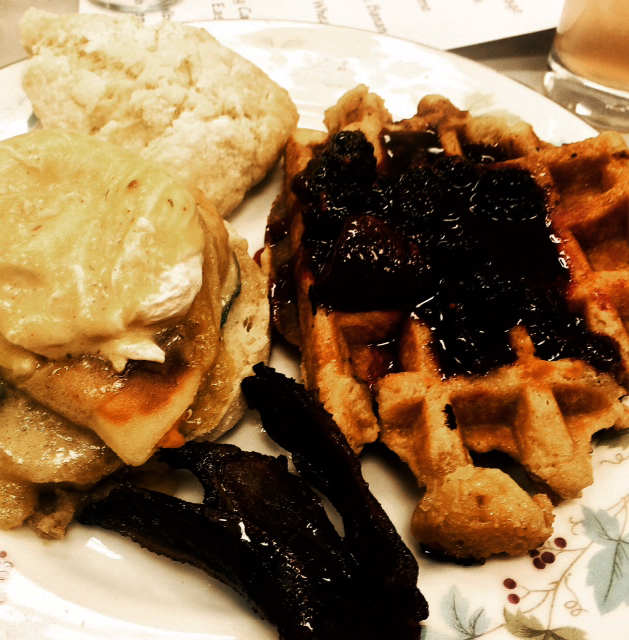 Brunch dishes from the Pittsburgh Public Market