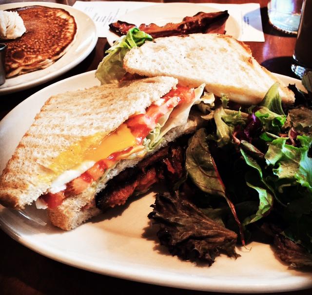Marty's Market Pork Belly Sandwich