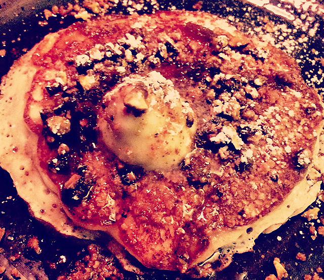 Buttermilk & Ricotta Pancake