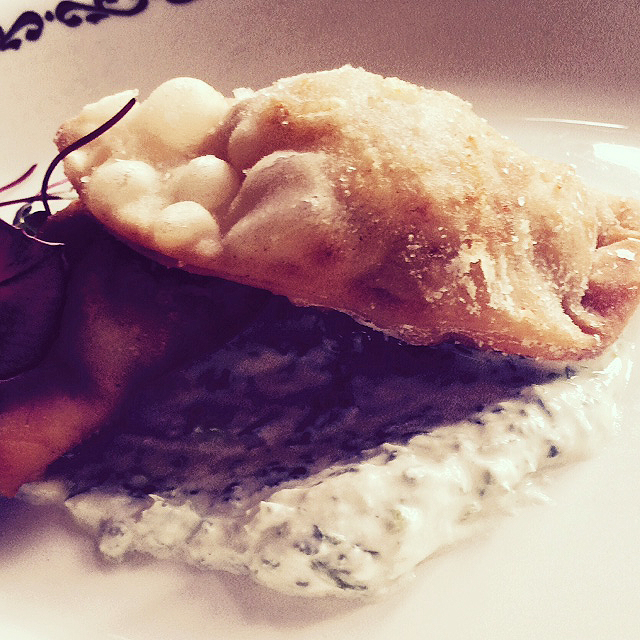 Shrimp Empanada from Bar Marco