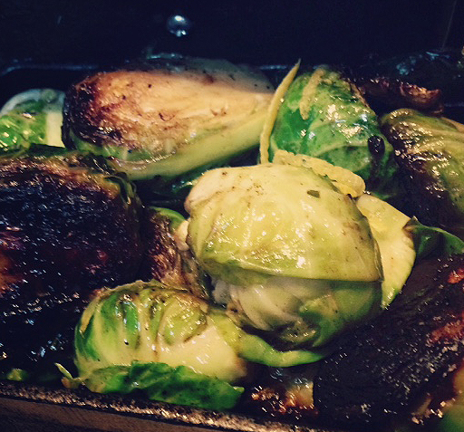 Crispy Brussels Sprouts!