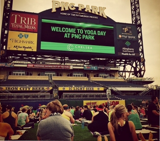 Yoga Day at PNC Park