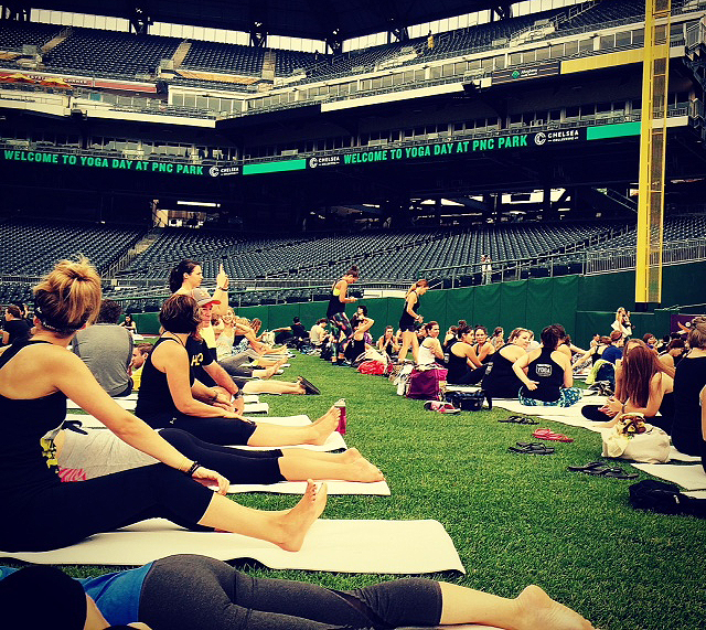 Yogis in the Outfield