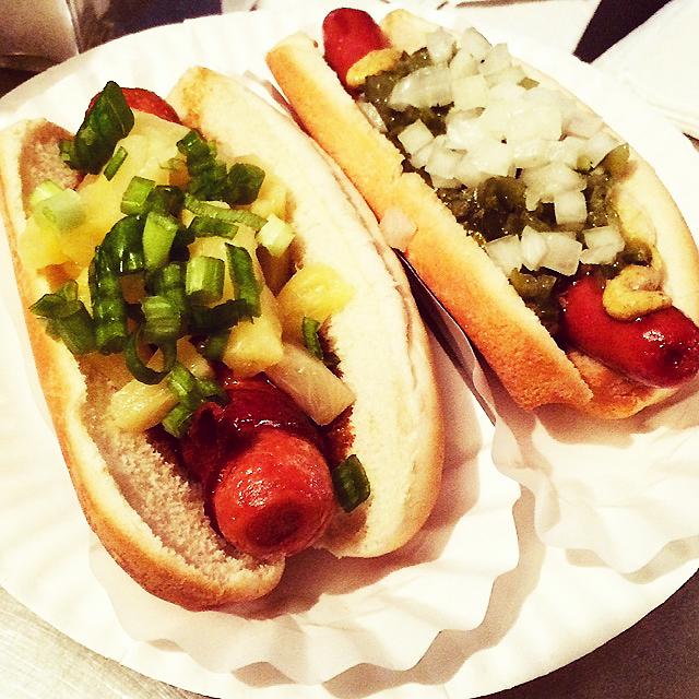 Crif Dog hot dogs New York City