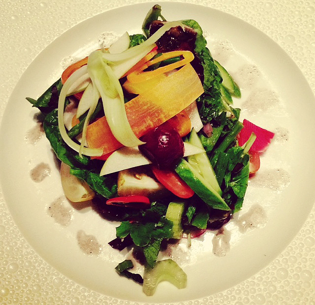 Mesclun Salad from Le Bernardin